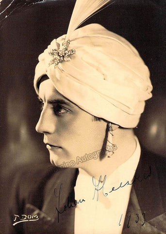 Heesters, Johannes - Signed Photo in Role