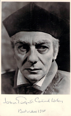 "Gielguld, John - Signed Photo in ""A Man for All Seasons"""