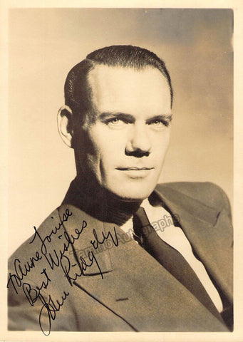 Ridgely, John - Signed Photo
