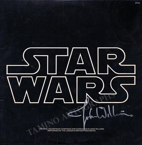 Williams, John - Signed Star Wars LP Album