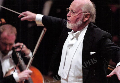 Williams, John - Signed Photo Conducting