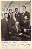 Fisk Jubilee Singers - Signed by all Six Members 1959