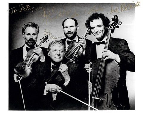 Juilliard String Quartet - Signed Photo by All 4 Members