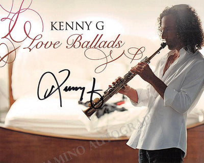 Kenny G - Signed Photo