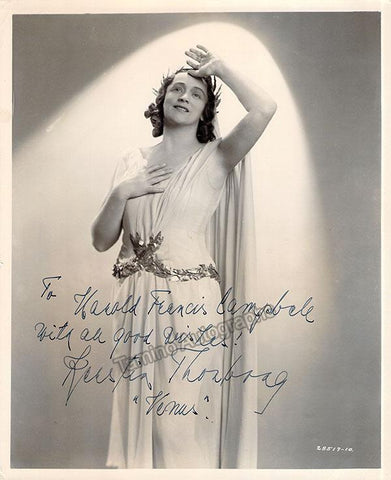 Thorborg, Kerstin - Signed Photo in Tannhauser