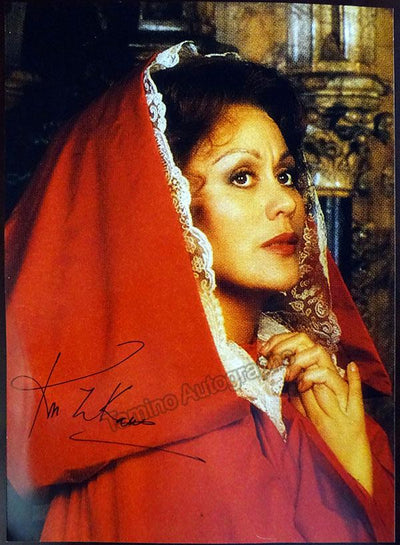 Te Kanawa, Kiri - Large Signed Photo as Tosca