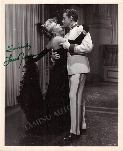 "Turner, Lana - Signed Photo in ""The Merry Widow"""