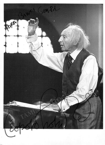 Stokowski, Leopold - Signed Photo Conducting