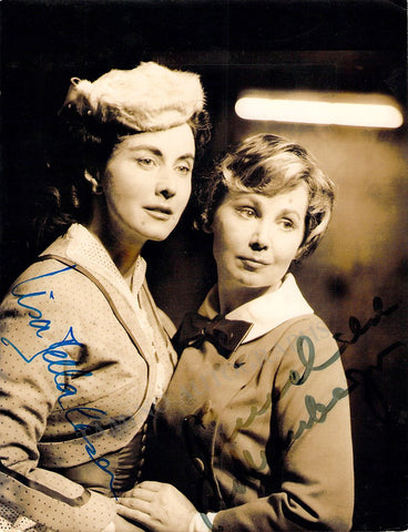 Della Casa, Lisa - Rothenberger, Anneliese - Double Signed Photo in Arabella