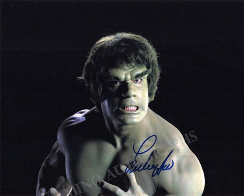 Ferrigno, Lou - Signed Photo