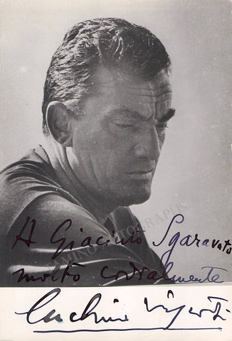 Visconti, Lucino - Signed Photo