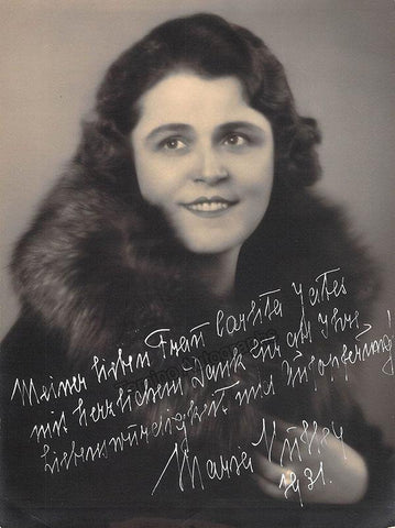 Muller, Maria - Signed Photograph