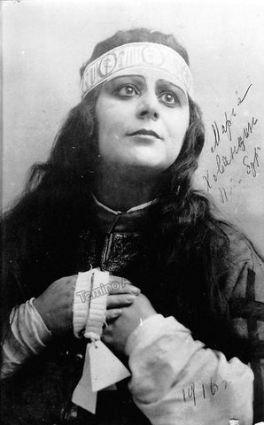 Davidova, Maria - Signed Photo in Role 1916