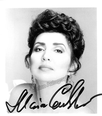 GULEGHINA, Maria (Various Autographs)