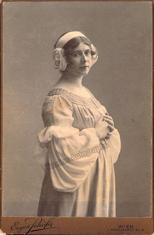 Gutheil-Schoder, Marie - Cabinet Photo