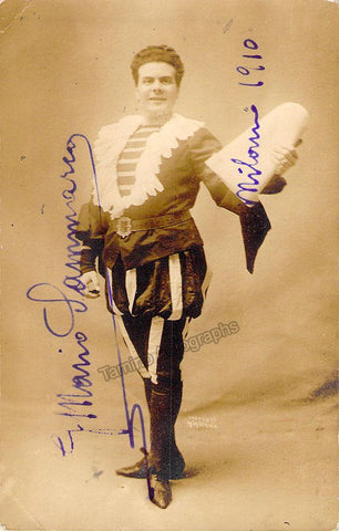 Sammarco, Mario - Signed Photo in Barbiere
