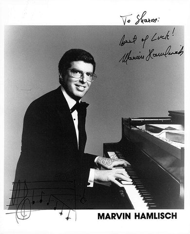 Hamlisch, Marvin - Signed Photo