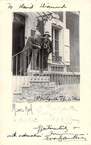 Gauthier, Eva - Signed Photo 1931
