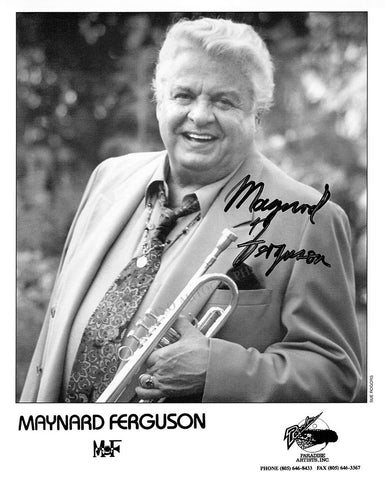 Ferguson, Maynard - Signed Photo