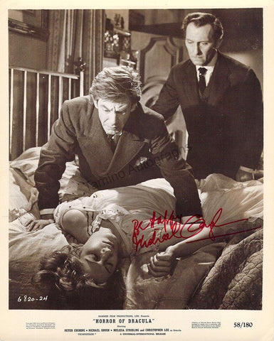 "Gough, Michael - Signed Photo in ""Horror of Dracula"""