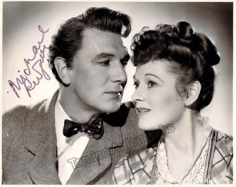 "Redgrave, Michael - Signed Photo in ""Fame is the Spur"""