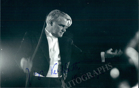 Keilberth, Joseph - Signed Photo and Autograph Letter Signed