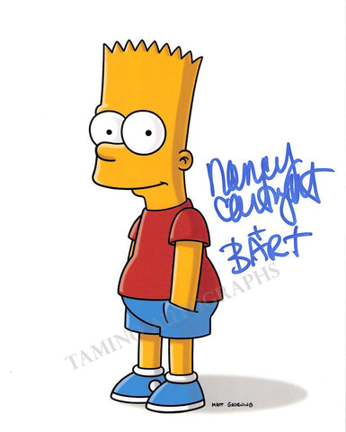 Cartwright, Nancy - Signed Photo of Bart Simpson