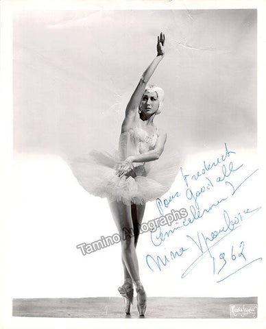 Vyroubova, Nina - Signed Photo 1962