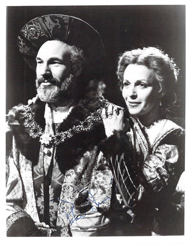 Stewart, Patrick - Signed Photo in Hamlet