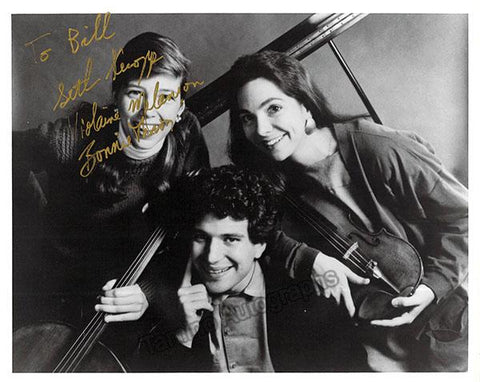 Peabody Trio - Signed Group Photo
