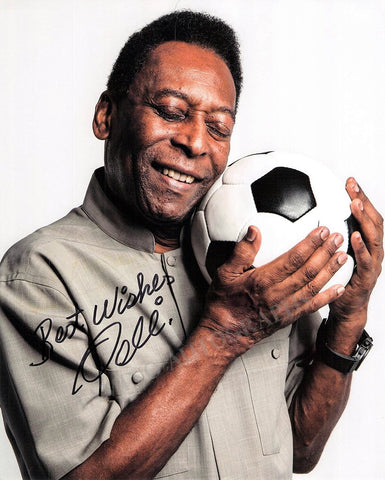 Pele (Edson Arantes do Nascimento) - Signed Photo