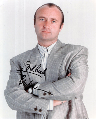 Collins, Phil - Signed Photo