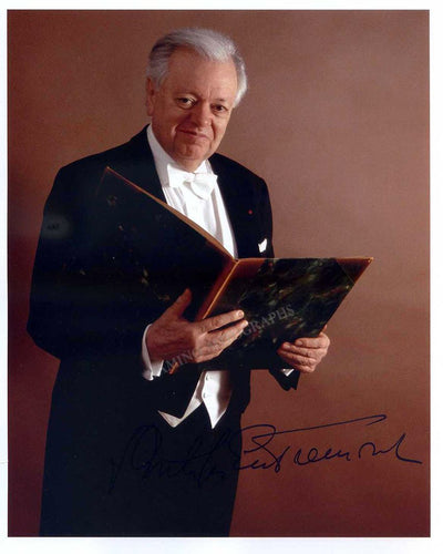 Entremont, Philippe - Signed Photo