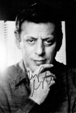 Glass, Philip - Signed Photo