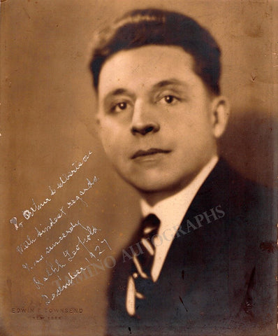 Leopold, Ralph - Signed Photo 1927
