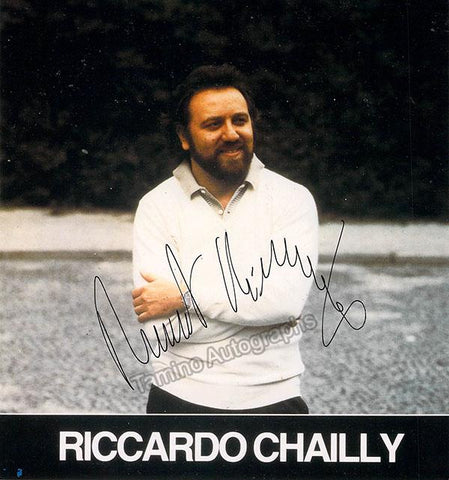 Chailly, Riccardo - Signed Photo