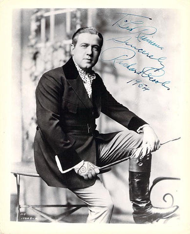 Crooks, Richard - Signed Photo in Traviata