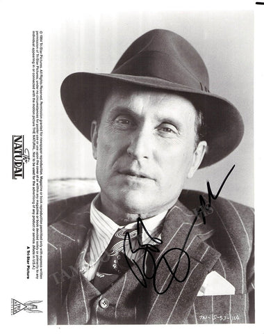 "Duvall, Robert - Signed Photo In ""The Natural"""