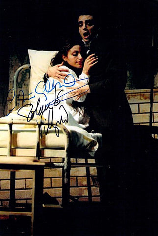 Villazon, Rolando - Gallardo-Domas, Cristina - Double Signed Photo in Traviata