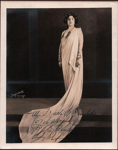 Raisa, Rosa - Signed Photo in Norma