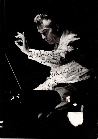 Kempe, Rudolf - Signed Photo 1963