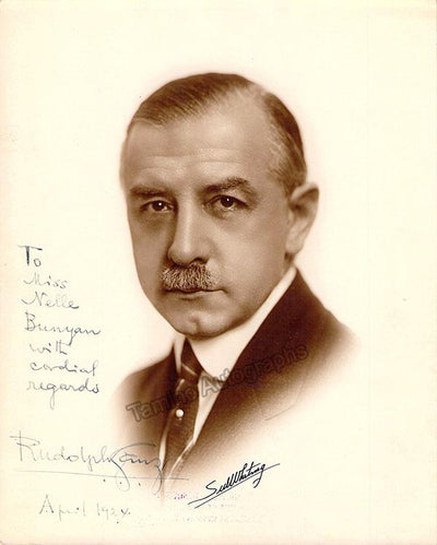 Ganz, Rudolph - Signed Photo 1924