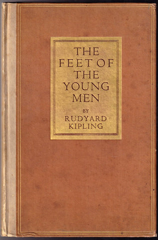 "Kipling, Rudyard - Signed Book ""The Feet of the Young Men"""