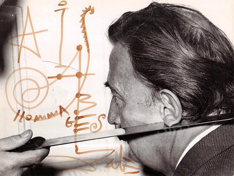 Dali, Salvador - Signed Photo
