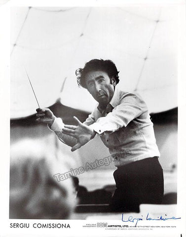 Comissiona, Sergiu - Signed Photo Conducting