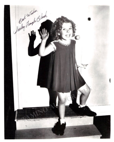 Temple, Shirley - Signed Photo