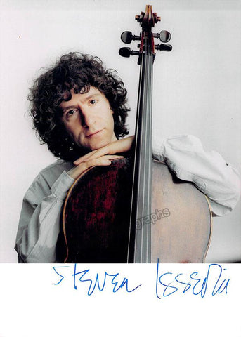 Isserlis, Steven - Signed Color Photo