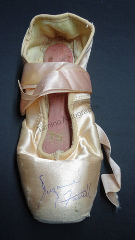 Farrell, Suzanne - Signed Pointe Shoe