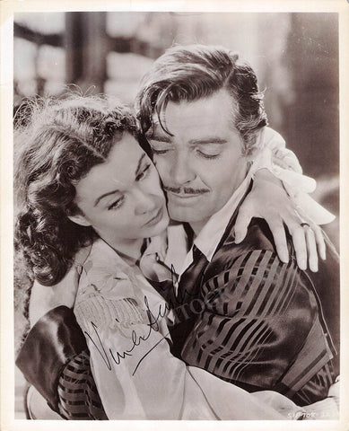 "Leigh, Vivien - Signed Photo in ""Gone with the Wind"""