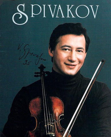 Spivakov, Vladimir - Signed Promo Photo 1995